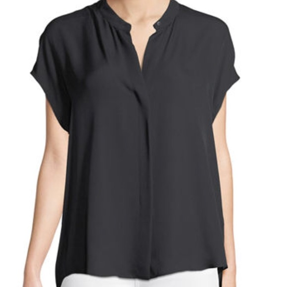 b8b90f5f5a71f1 VINCE Silk Snap Front Placket Blouse. M_5bfef9132e147832dc64d8ad